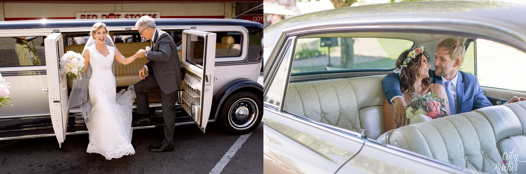 Perth Vintage Limousines Classic Cadillac Wedding Limo Hire